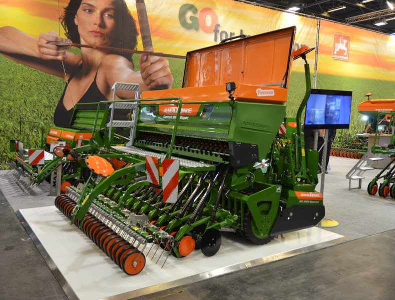 SIMA 2017: Trio of Amazone highlights