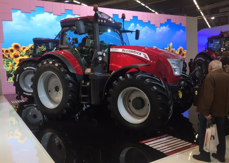 SIMA 2017: More power for McCormick's X7