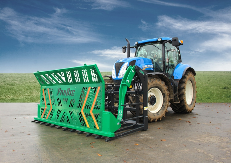 ProDig launches push-off silage forks
