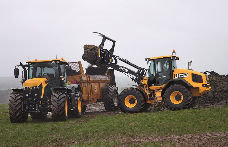 UK debut for JCB wheeled loader