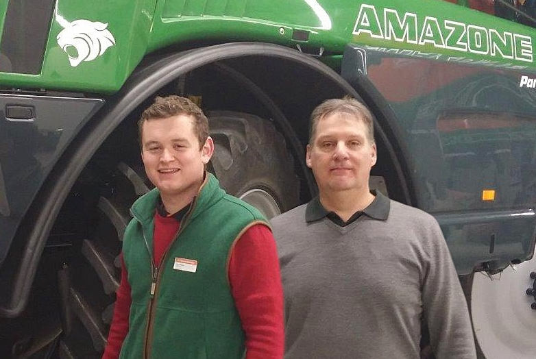 Amazone strengthens service support team