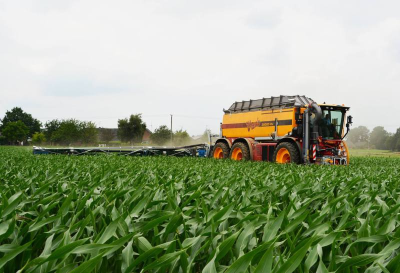 Vredo develops inflatable slurry tank