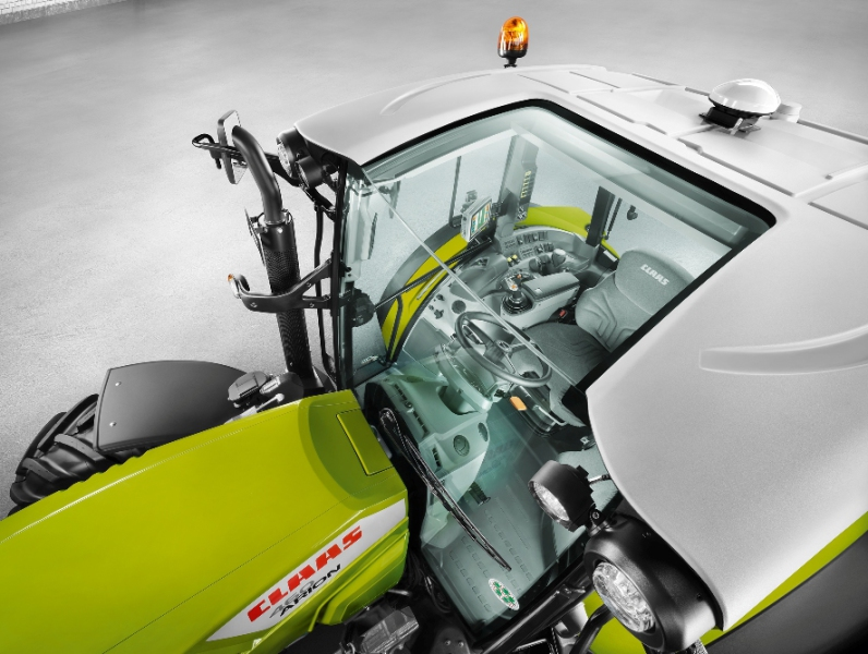 Design award for Claas tractor cab