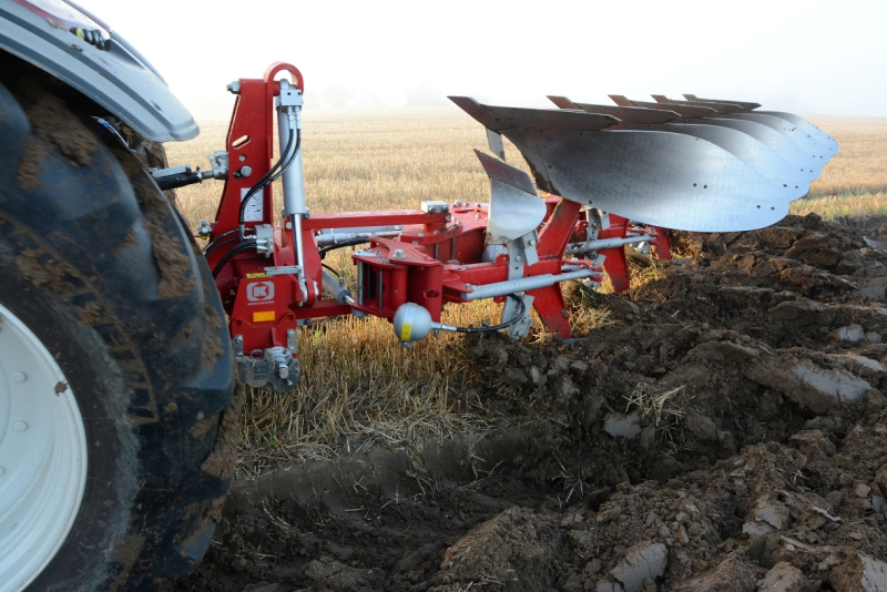 Shorter run-in time for Kongskilde ploughs