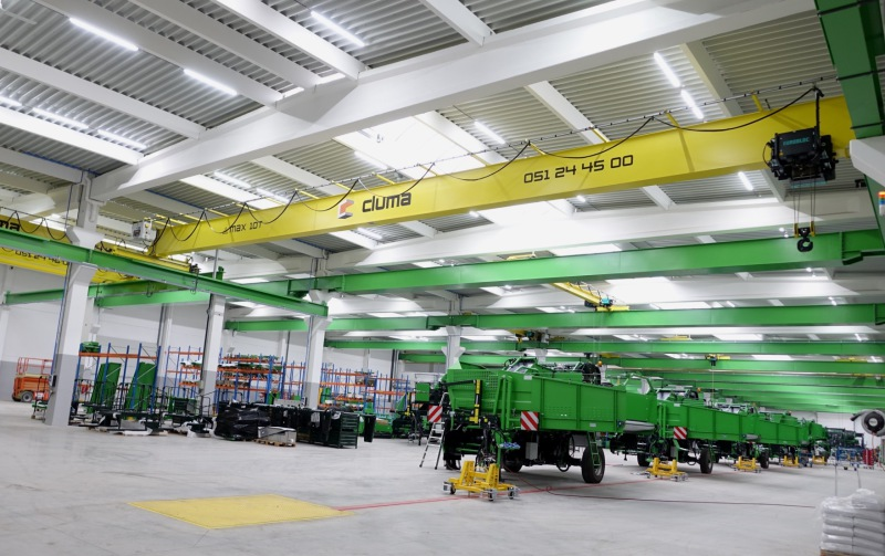AVR opens new potato harvester assembly line