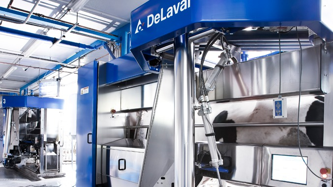 64 milk robots for Chilean dairy farm