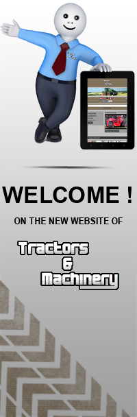 Welcome on the new website of Tractors and Machinery