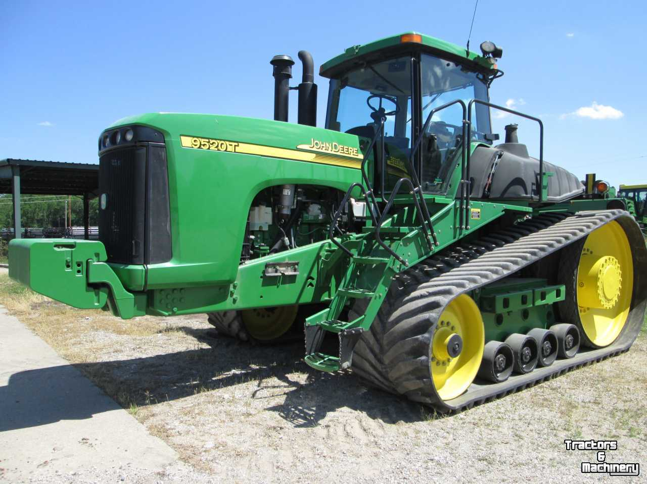 Tractor Front Track : John deere t track tractor on tracks used tractors