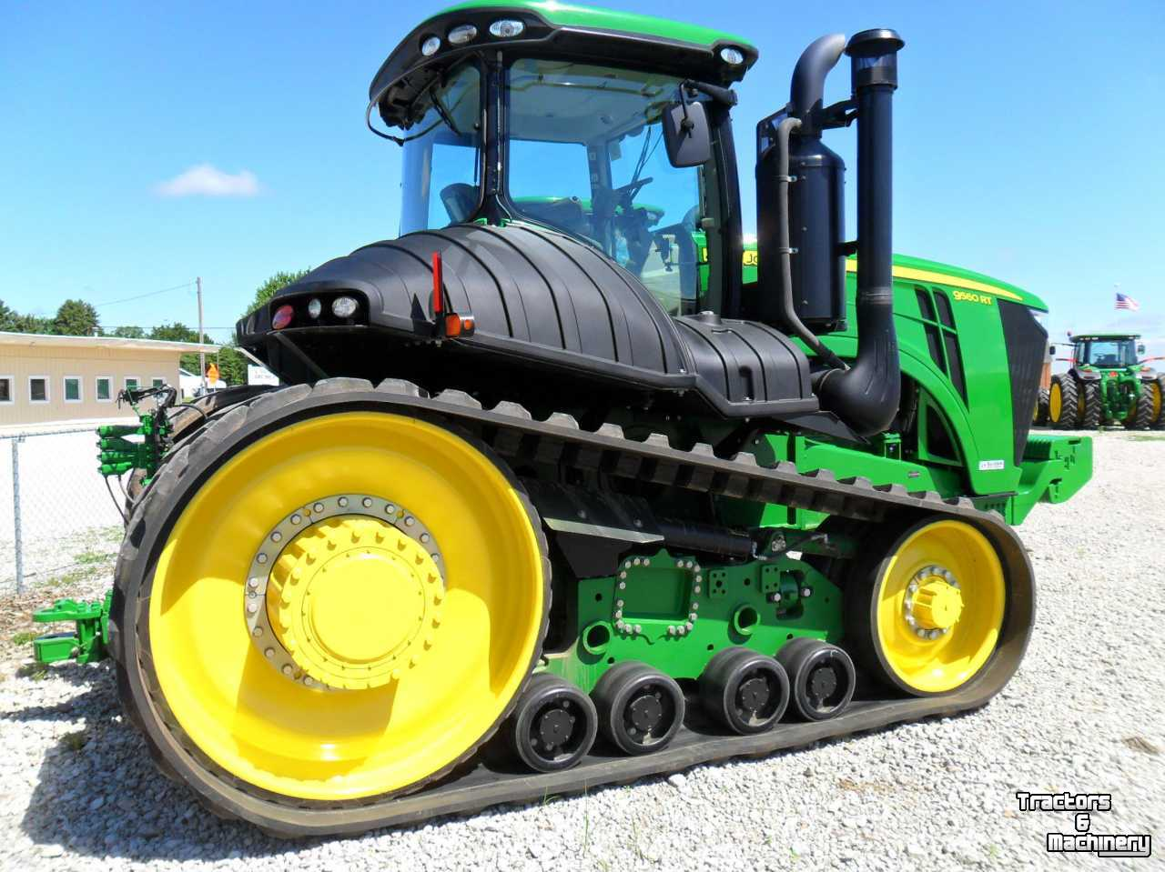 Tractor Front Track : John deere rt track rups raupen tractor usa used