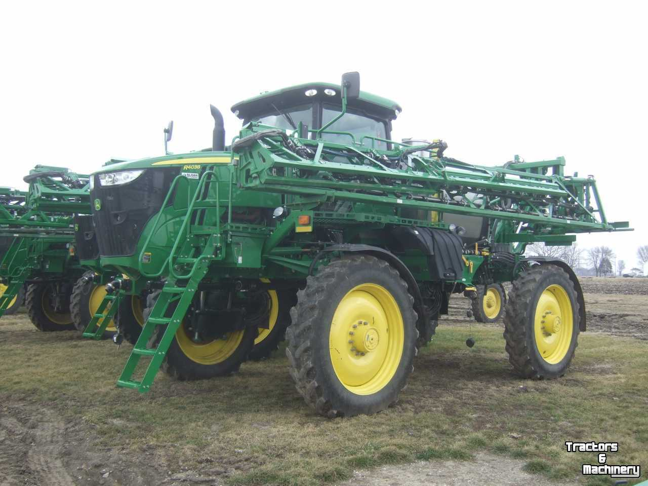 Boom Sprayers For Tractors : John deere r ft ss boom sprayer il usa used