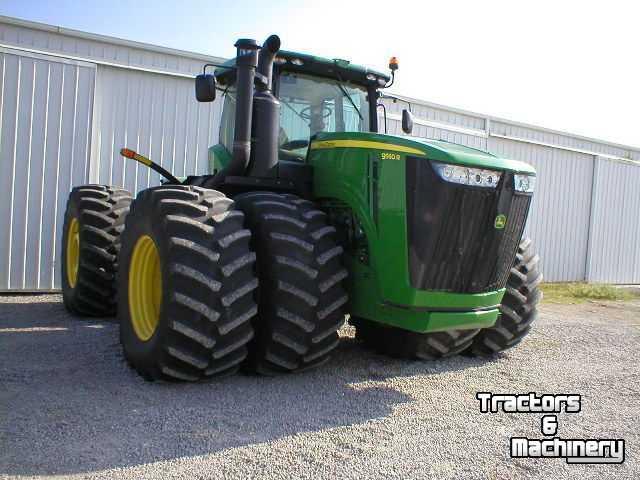 John Deere 9000 Series Tractors : John deere r wd series articulated tractor na