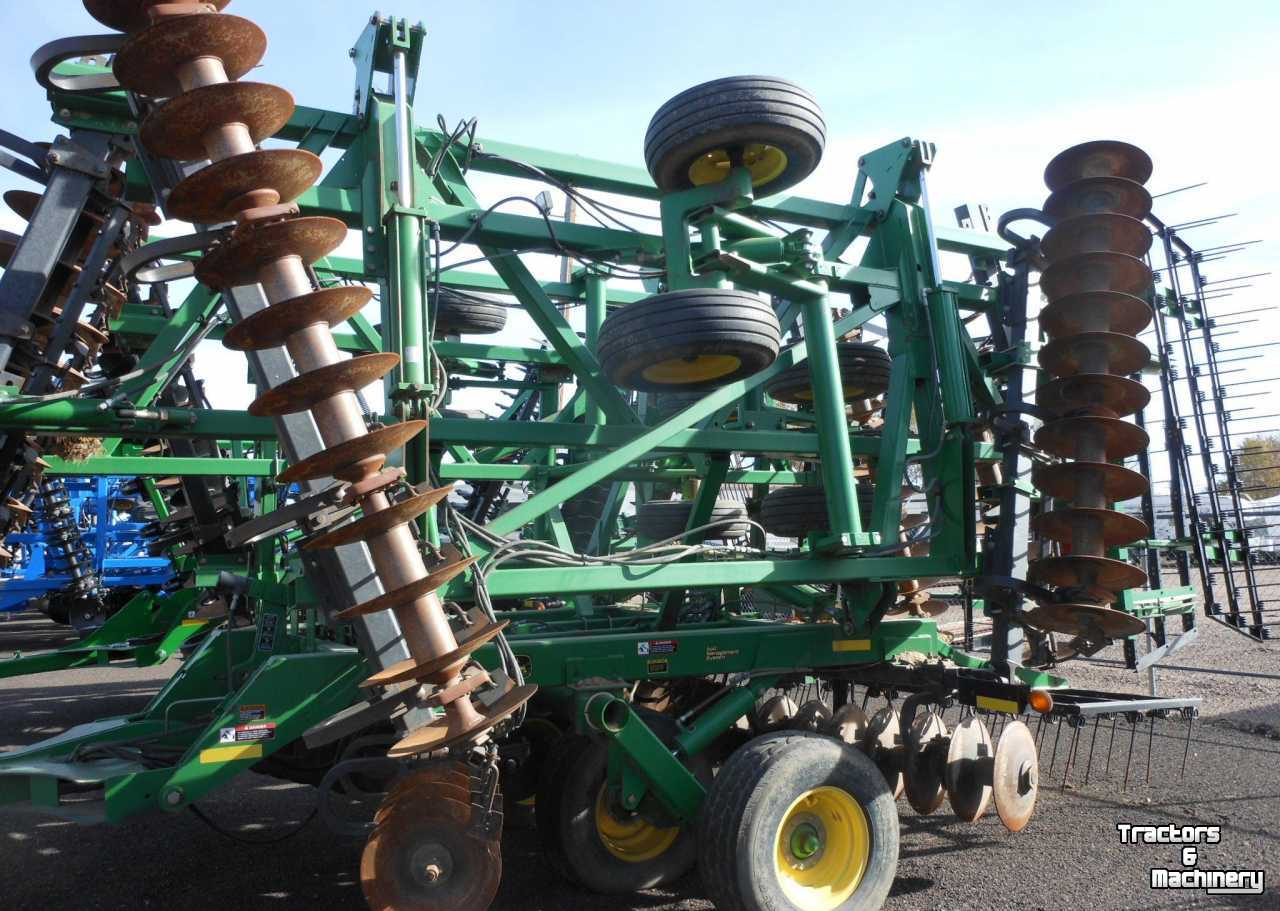 Tandem John Deere Tractors : John deere ft section tandem disc disk co usa