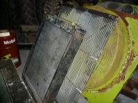Used parts for forage harvesters Claas Radiateur / Radiator / Water cooler