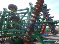 Disc harrow John Deere 637 45FT 5-SECTION TANDEM DISC DISK CO USA