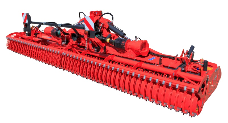Kuhn power harrow covers up to 100ha a day