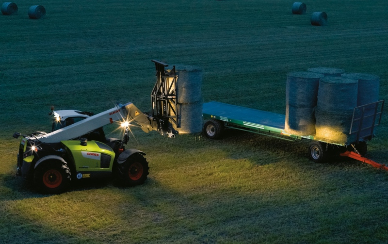 Hannover debut for new Claas Scorpions