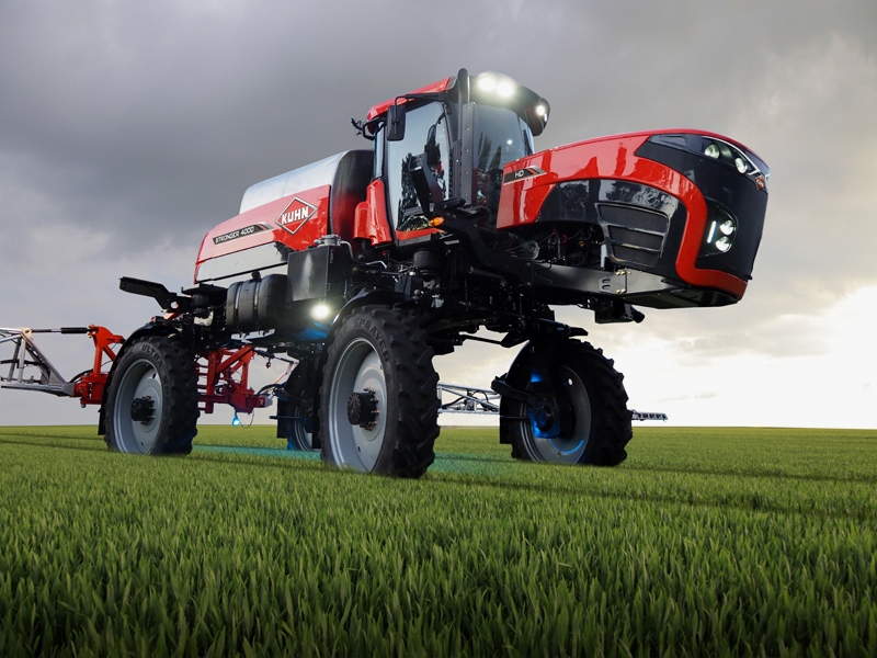 Kuhn Stronger takes to the fields