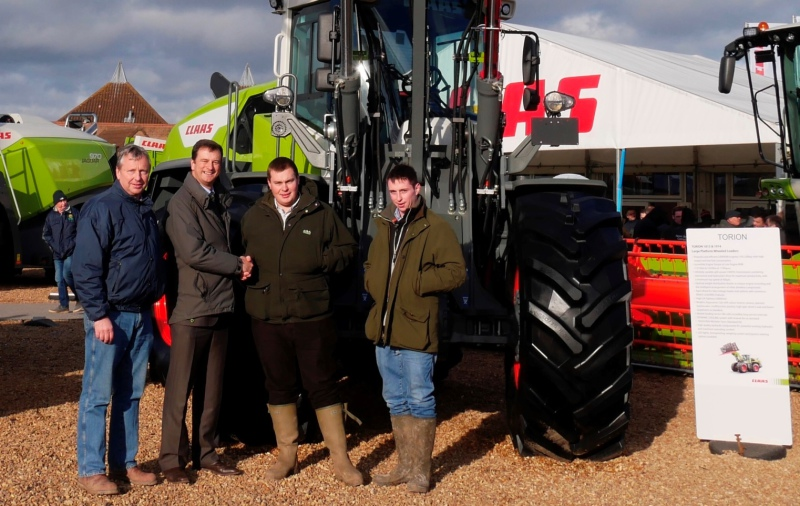 First Claas Torion in the UK