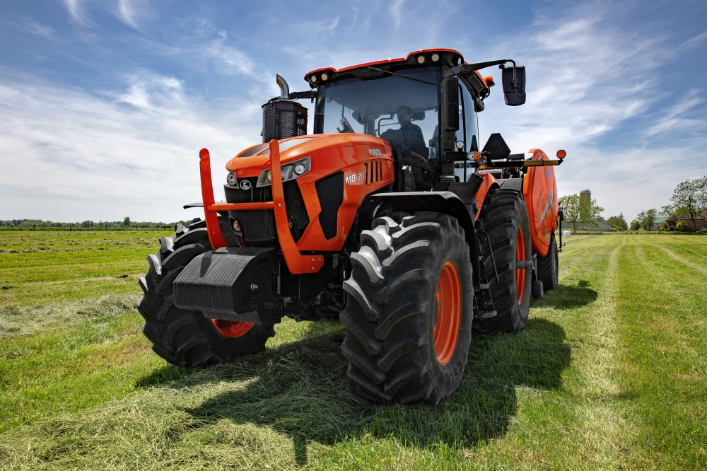 Kubota M8 launched in North America