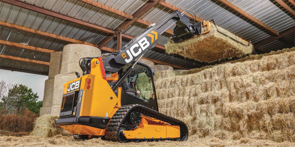 Tracked version of JCB Teleskid.