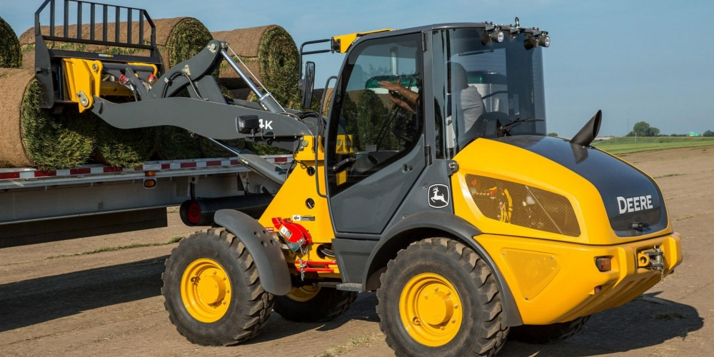 Deere construction machines arrives in Europe