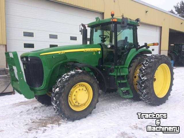 Mfwd Tractor Fenders : John deere mfwd power shift tractor ontario used