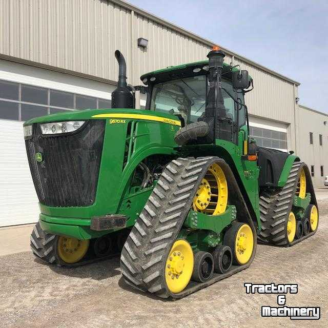 Used Tractors For Sale >> John Deere 9570rx 40km Pto Powershift Track Tractor For Sale Ontario Used Tractors 2016 N0m 1s3 Exeter Ontario Canada