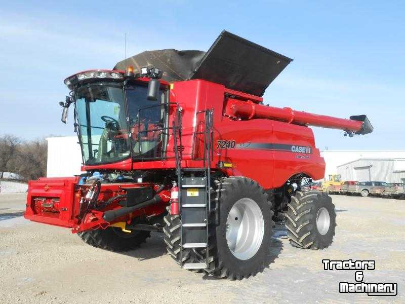 Combine Case-IH 7240 4WD AXIAL FLOW COMBINE MN USA ...
