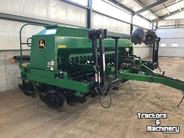 John Deere 1590 15FT SEED BOX NO-TILL DRILL ONTARIO - Used Direct seeder -  2004 - N0M-1S3 - Exeter - Ontario - Canada