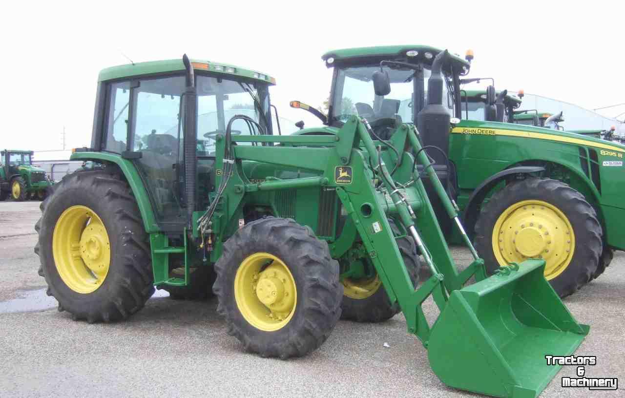 Tractors John Deere 6400 MFWD PQ UTILITY 640SL LOADER TRACTOR IL USA ...