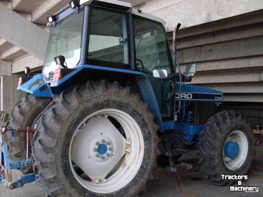 Ford Tractor Company : Ford mfwd synchro tractor co usa used tractors