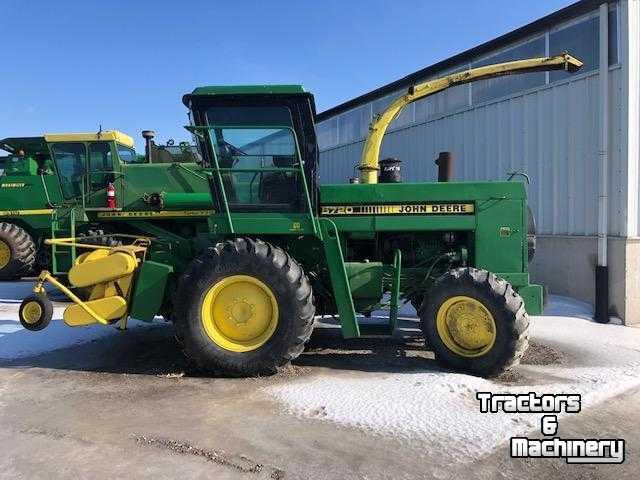 John Deere For Sale >> John Deere 5720 4wd Spfh Forage Harvester For Sale Ontario Used Forage Harvester 1984 N0m 1s3 Exeter Ontario Canada
