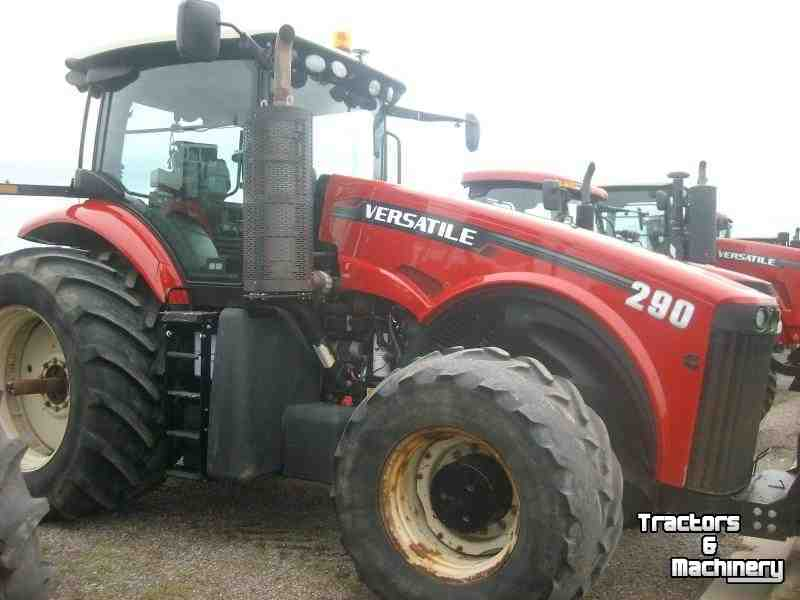 Versatile 290 4wd power shift tractor mn usa used for Versatile sheds prices