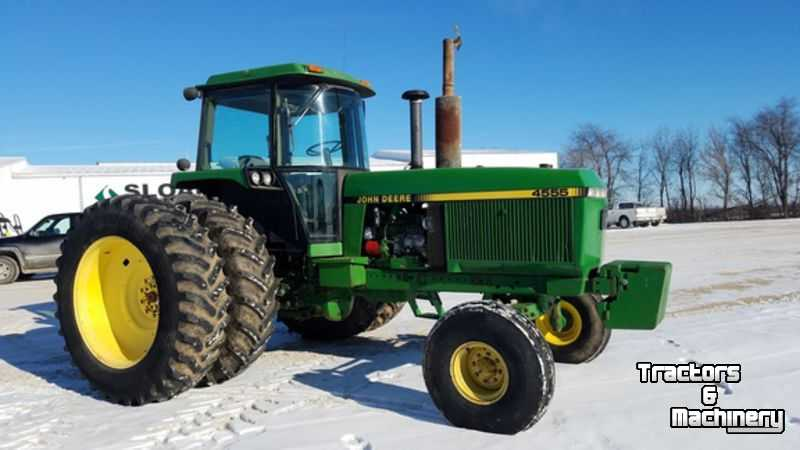 Tractors John Deere 4555 2WD TRACTOR WI USA ...