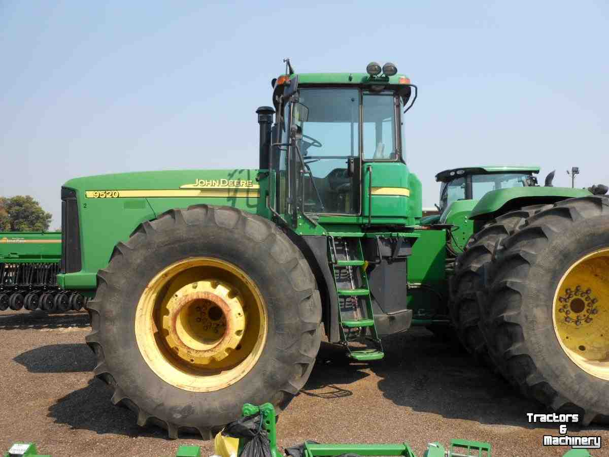 Tractors John Deere 9520 4WD POWER SHIFT TRACTOR CO USA ...