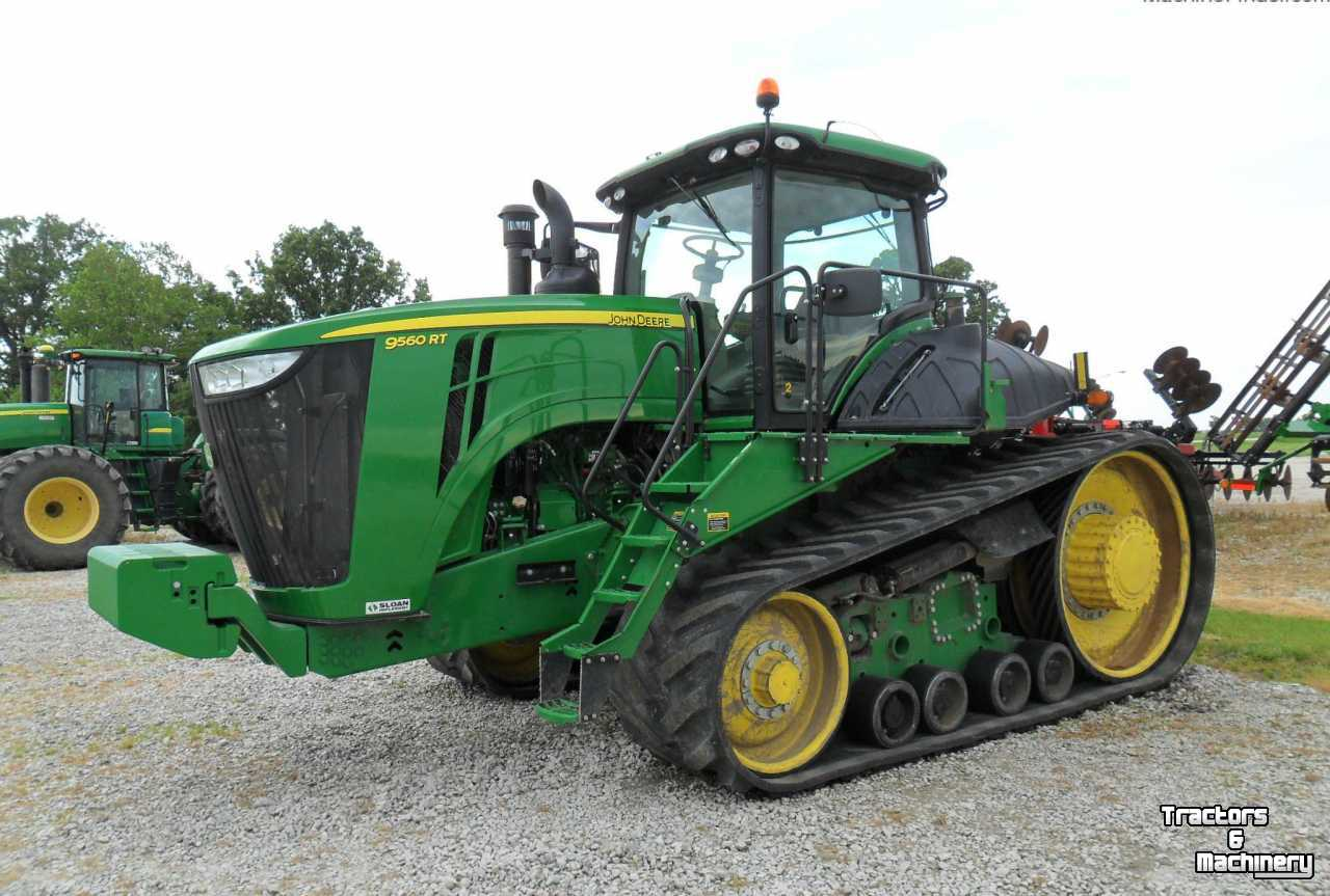 Tractor Front Track : John deere rt pst tracked track tractor il usa used