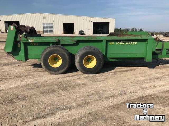 John Deere 780 BOX MANURE SPREADERS FOR SALE ONTARIO - Used Manure spreader  - 1993 - N0M-1S3 - Exeter - Ontario - Canada