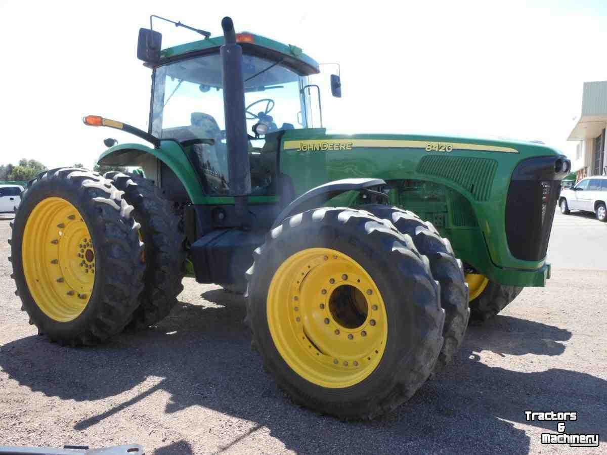 John Deere Shifter : John deere mfwd power shift tractor co usa used