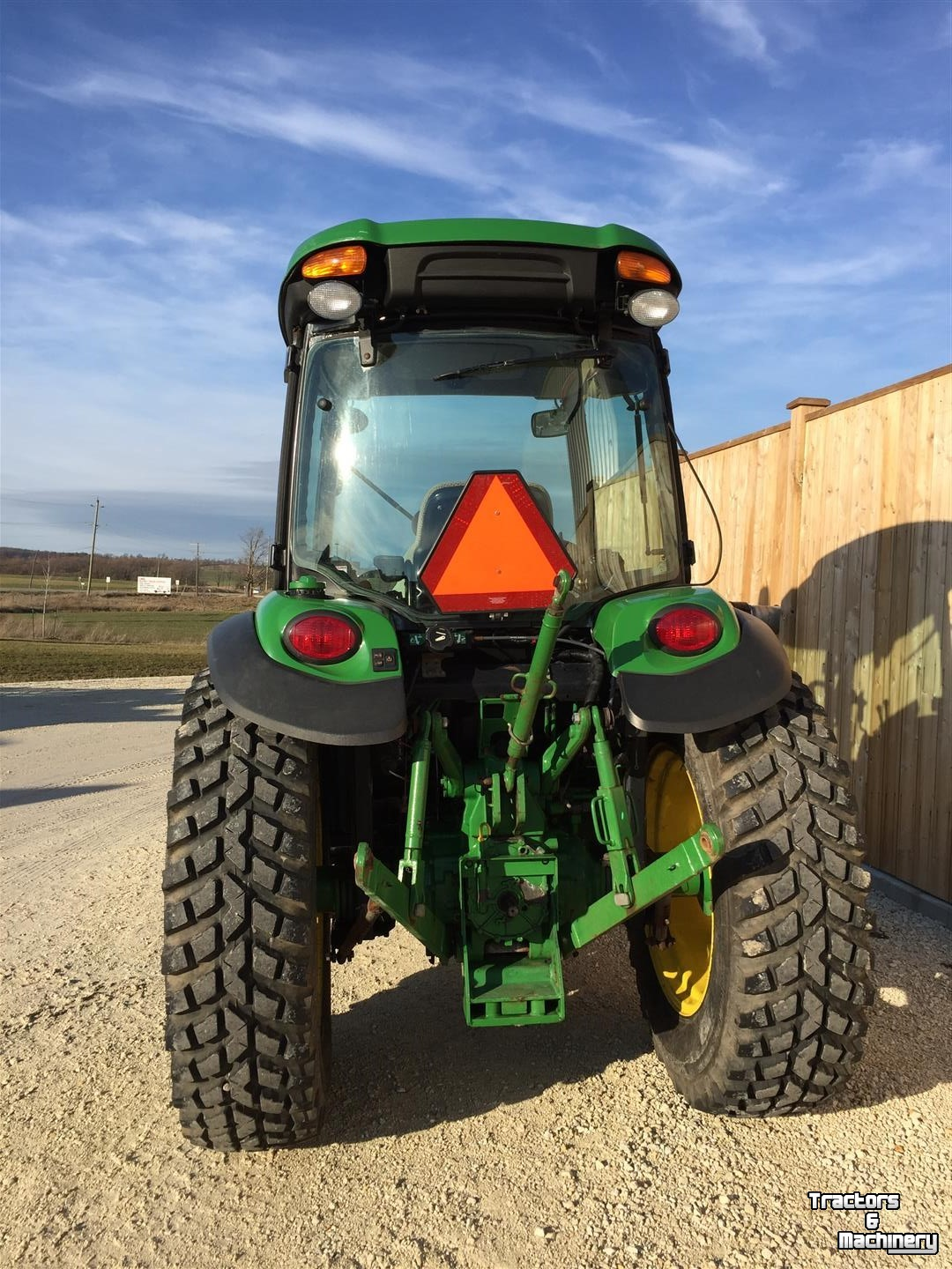 All Weather Tire >> John Deere 4066R 4WD HYDRO COMPACT TRACTOR ONTARIO - Used ...