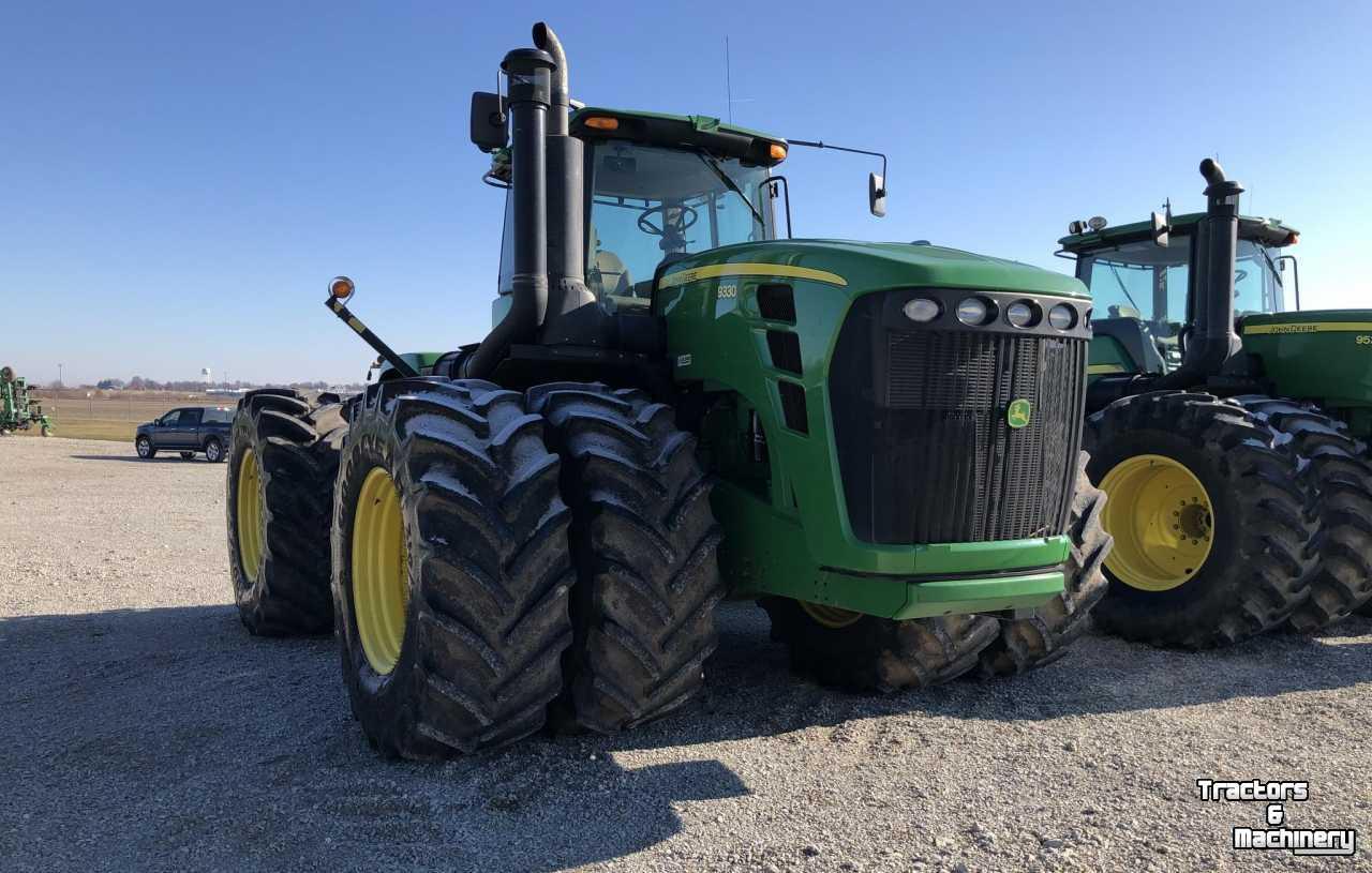 john deere 9330 4wd bareback tractor il usa  used