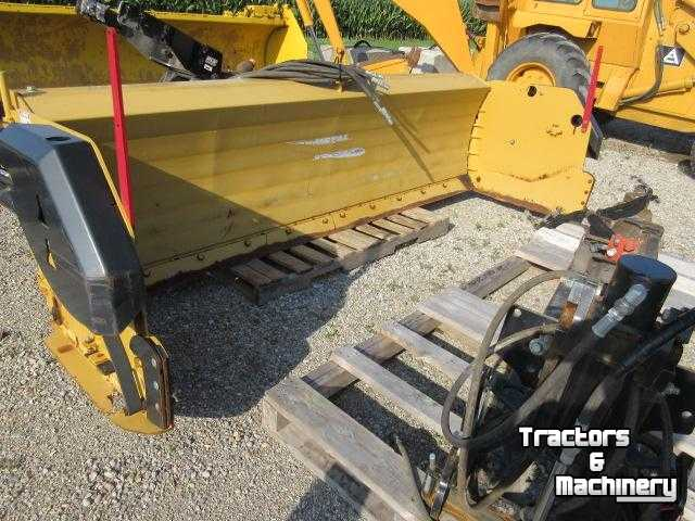 Tractor Snow Wing Blades : Metal pless snow wing blades ontario used