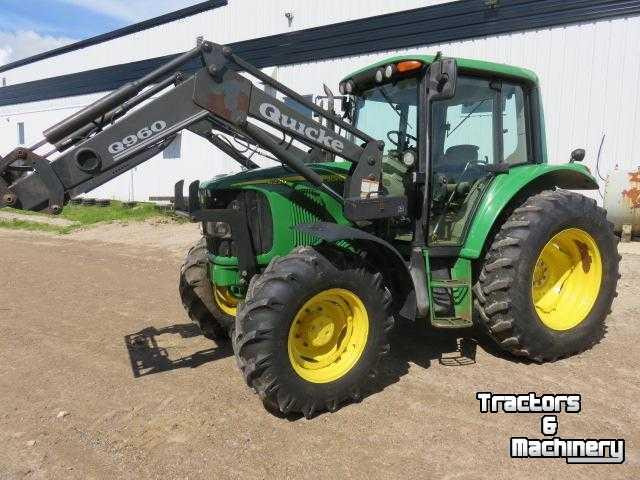 John Deere Mfwd Fenders : John deere pq mfwd alo q sl loader tractor ontario