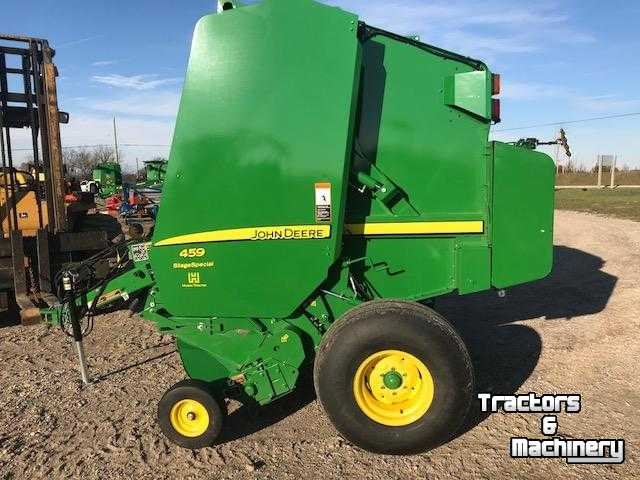 John Deere 459S 4X5 SILAGE SPECIAL ROUND BALER ONTARIO - Used Balers - 2017  - N0M-1S3 - Exeter - Ontario - Canada