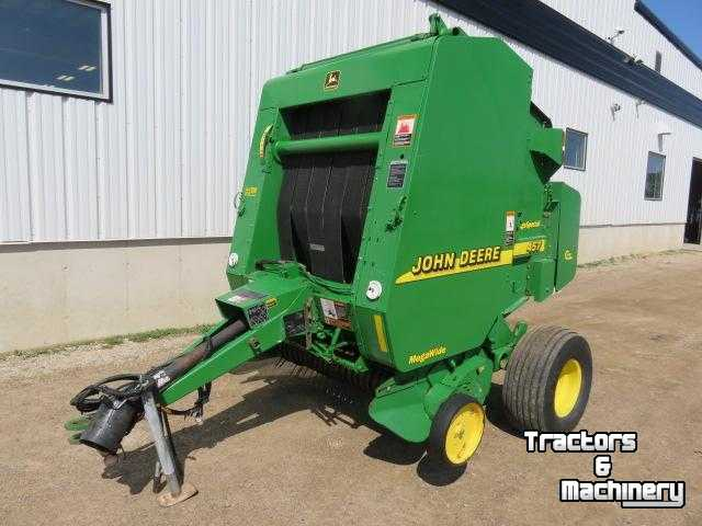 John Deere 457SS SILAGE SPECIAL ROUND BALER ONTARIO - Used Balers - 2001 -  N0M-1S3 - Exeter - Ontario - Canada