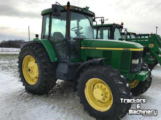 John Deere For Sale >> John Deere 7810 Mfwd Pq Power Quad Tractors For Sale