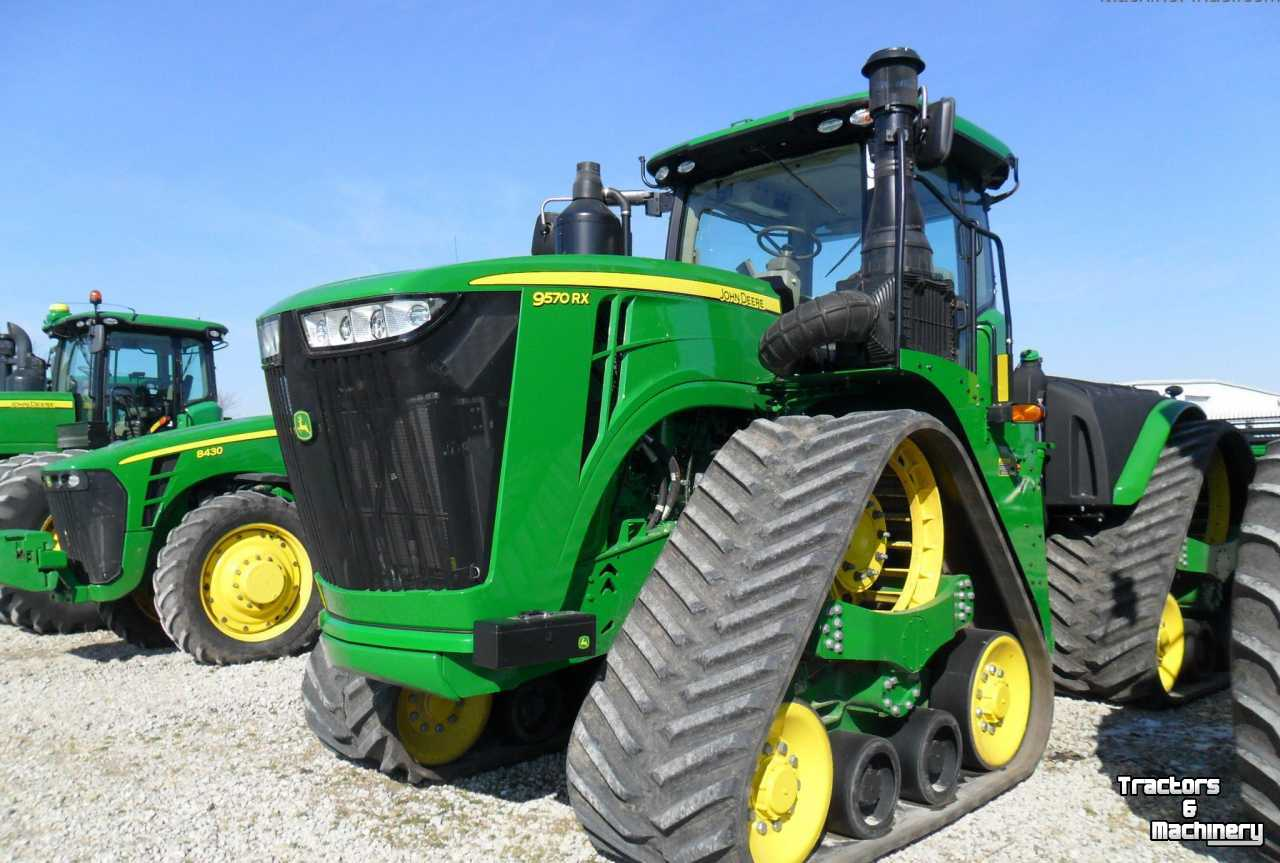 John Deere 9570RX ARTICULATED TRACK TRACTOR IL USA - Used Tractors - 2016 -  IL 62510 - Assumption - Illinois - USA