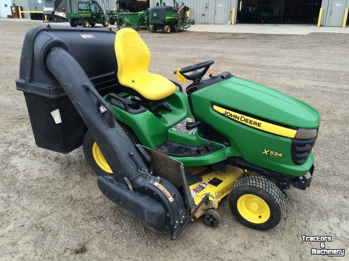 John Deere X534 4wd 3 Blades Lawn Mower Tractor Ontario