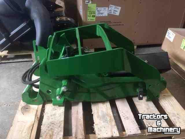 John Deere LOADER FRAMES HOOD GUARD ONTARIO - Used Front-end loader ...