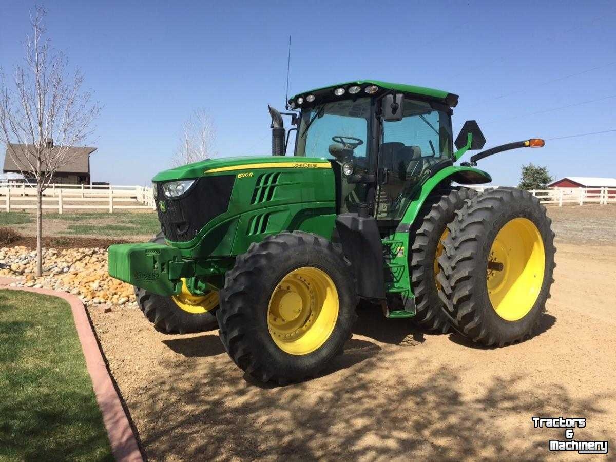 john deere 6170r mfwd auto quad plus eco tractor co usa. Black Bedroom Furniture Sets. Home Design Ideas