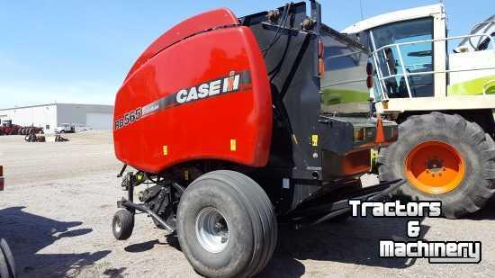 Case-IH RB565P MESH TWINE ROUND BALER MN USA - Used Balers